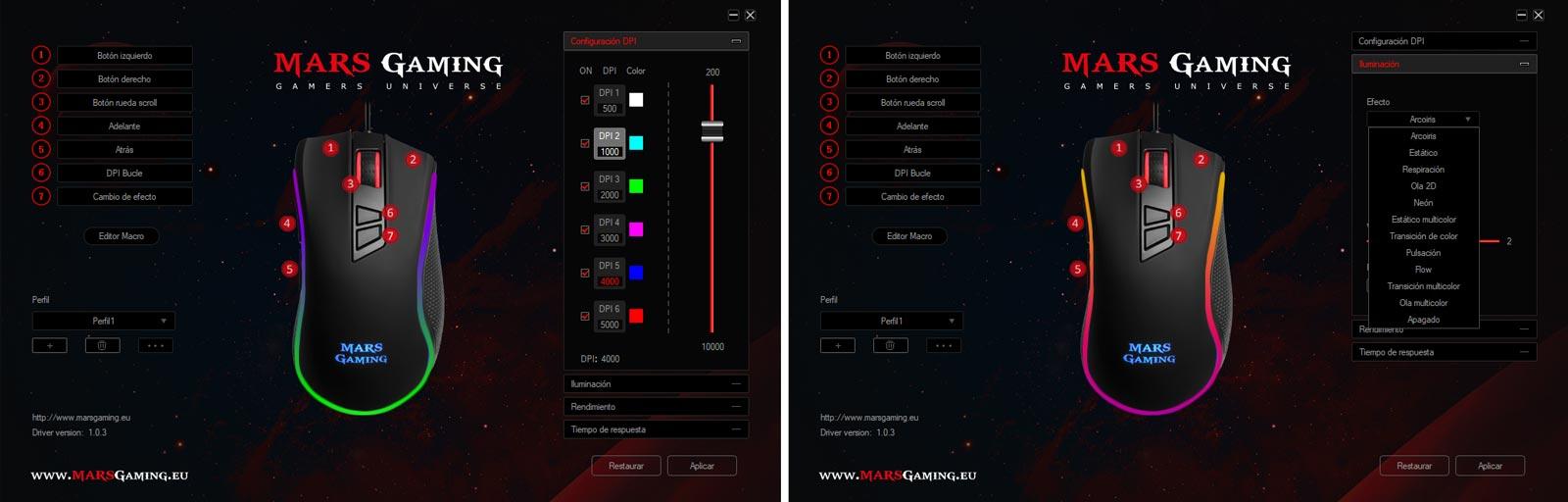 Analizamos el ratón MM218 de Mars Gaming
