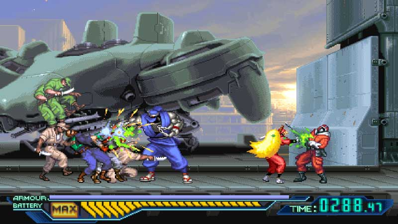 Análisis The Ninja Saviors para Nintendo switch