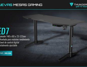 Nuevas mesas gaming ED3 y ED7