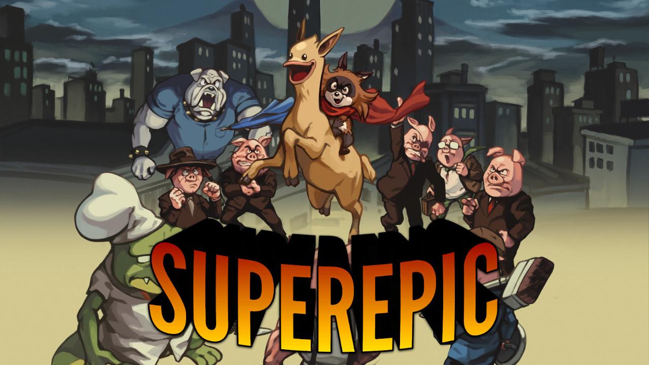 Análisis de SuperEpic: The Entertainment Wars