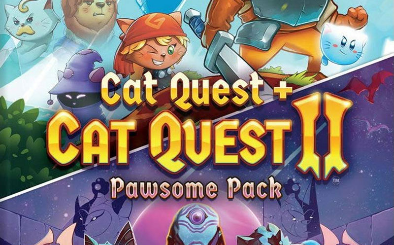Cat Quest + Cat Quest 2 Pawsome Pack por fin en físico.