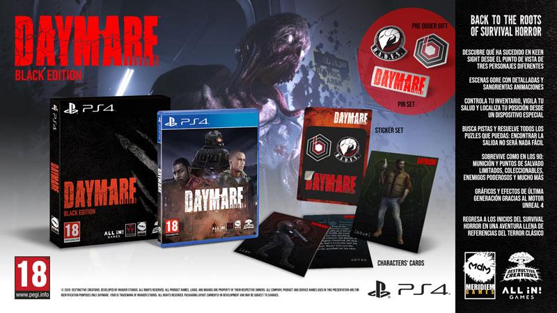 Daymare: 1998 el próximo 28 de abril para PlayStation 4
