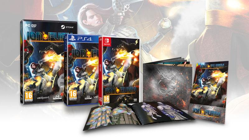 3D Realms anuncia el lanzamiento de Ion Fury en formato físico