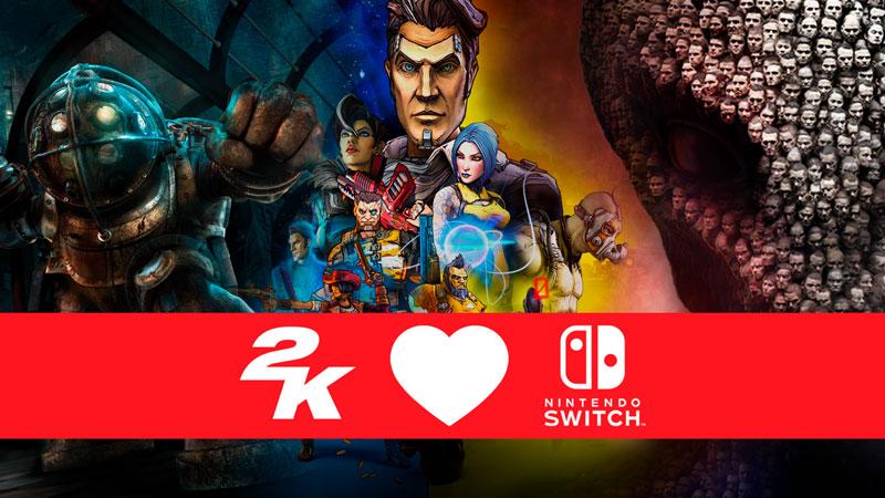 BioShock, XCOM 2 y Borderlands ya disponibles en Nintendo Switch.