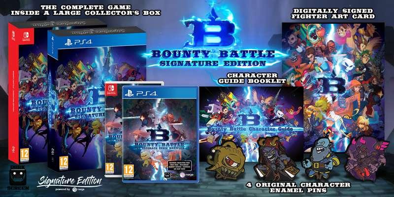 Bounty Battle llegará al catálogo de Switch en 2020