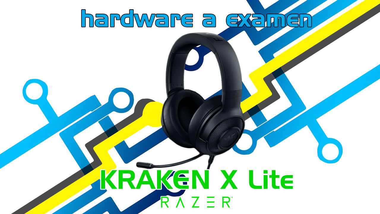 Analizamos los auriculares Razer Kraken X Lite