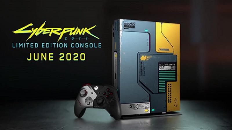 Microsoft presenta la Xbox One X Cyberpunk 2077 Edición Limitada