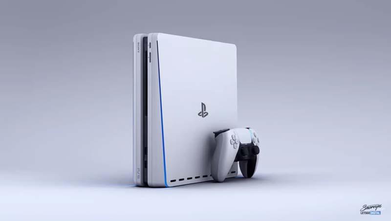 Así de bien lucen el nuevo Sony DualSense Controller y PlayStation 5 según el artista 3D Giuseppe Spinelli