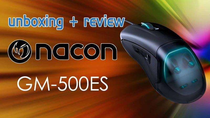 Ratón Nacon GM 500ES