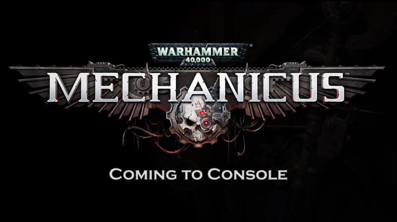 Warhammer 40,000: Mechanicus anunciado para PS4, Xbox One y Switch