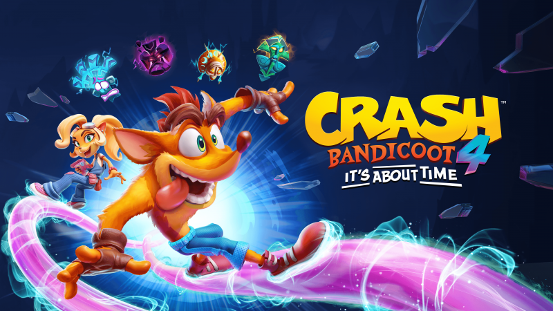 Anunciado Crash Bandicoot 4: It's About Time, que llegará el 2 de octubre de 2020 a PS4, One y PC