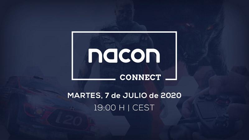 NACON Connect, en directo el 7 de julio de 2020