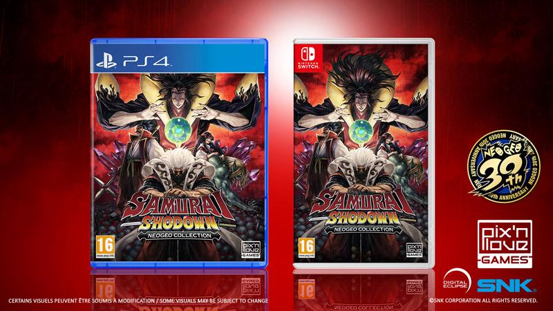 Samurai Shodown NeoGeo Collection llegan a PS4 y Nintendo Switch