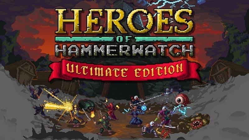 Heroes of Hammerwatch – Ultimate Edition se lanza hoy en Nintendo Switch y mañana en XBOX One