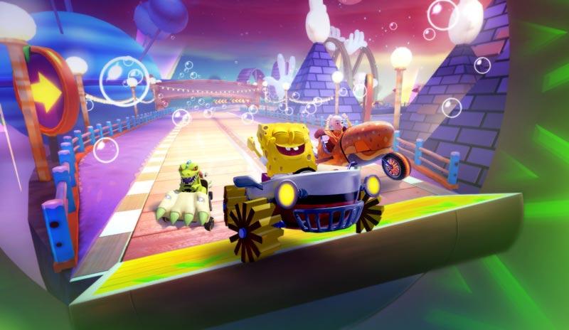 Nickelodeon Kart Racers es ta devuelta con su segunda entrega: Grand Prix