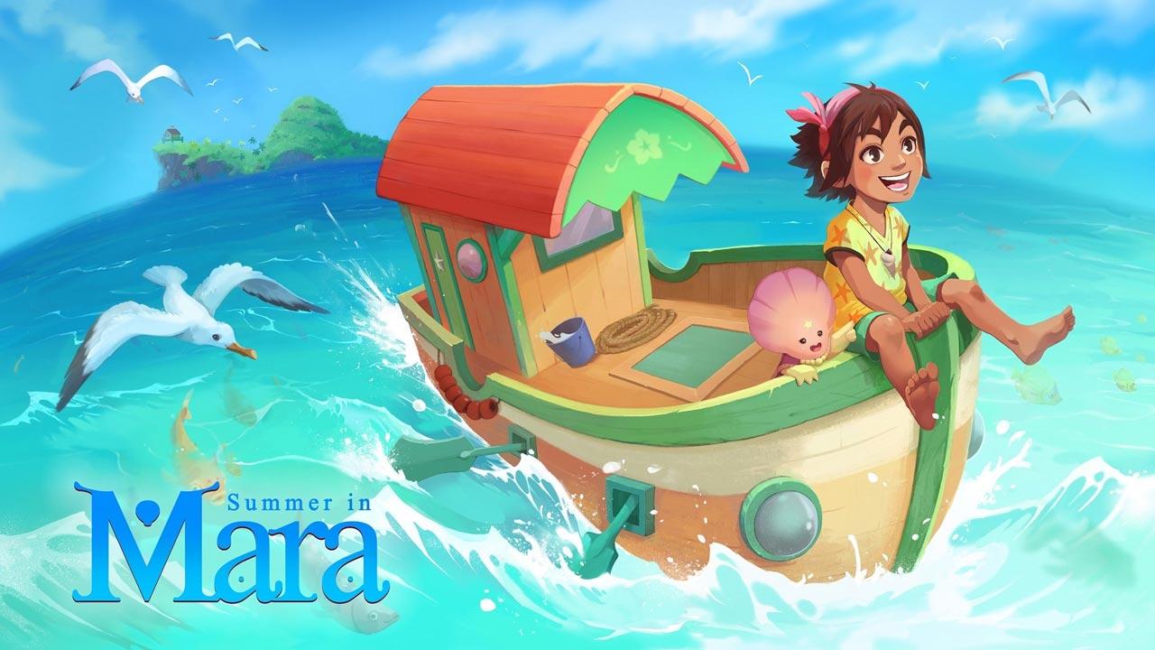 Summer in Mara ya disponible en PS4