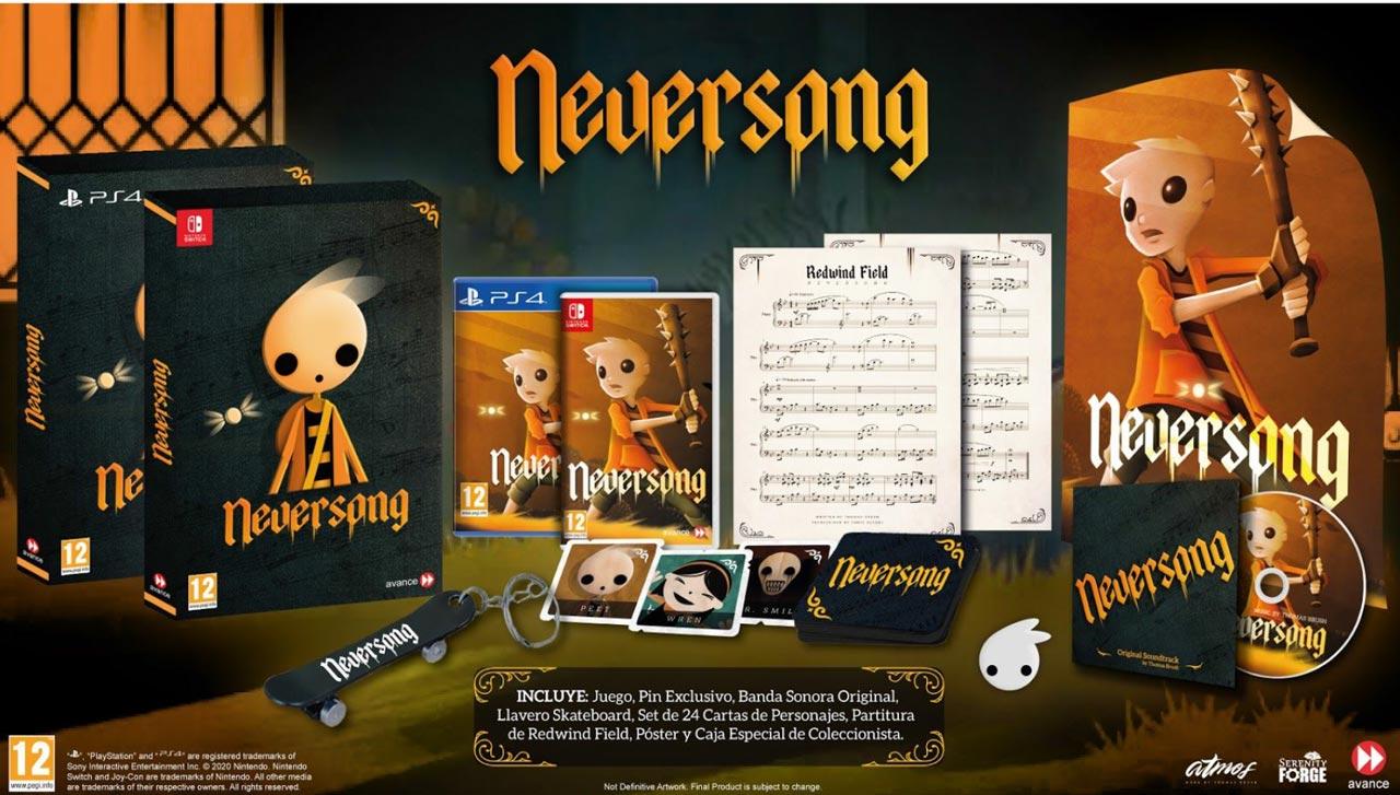 Neversong llegará en una Edición Física Exclusiva.