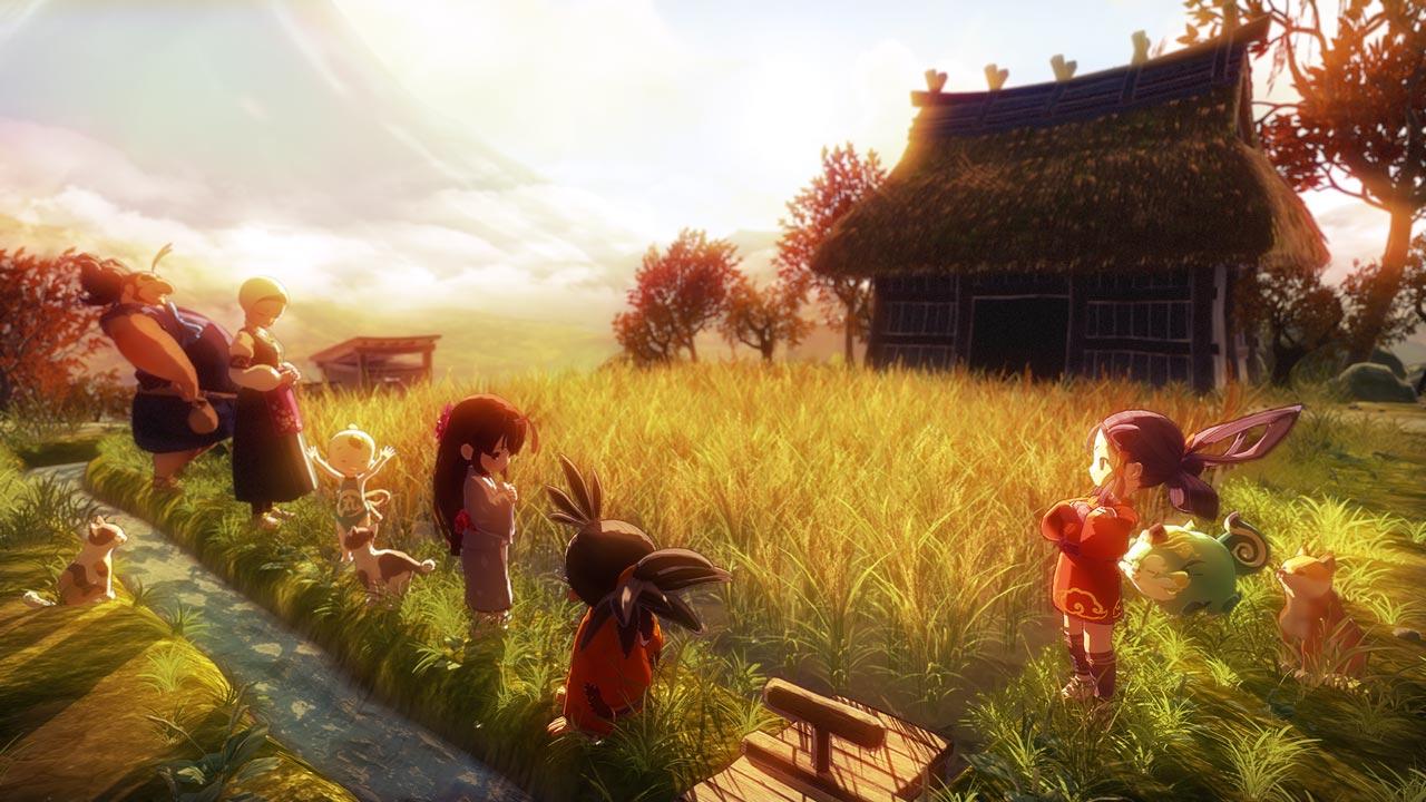 Sakuna: Of Rice and Ruin Limited Edition llegará en un formato físico para Switch y PS4