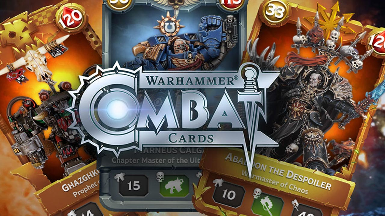Análisis: Warhammer Combat Cards 40K Edition