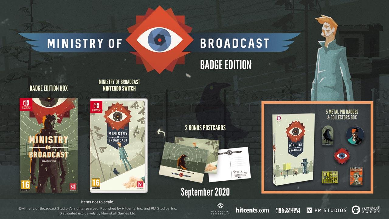 Ministry of Broadcast llega hoy en dos exclusivas ediciones físicas