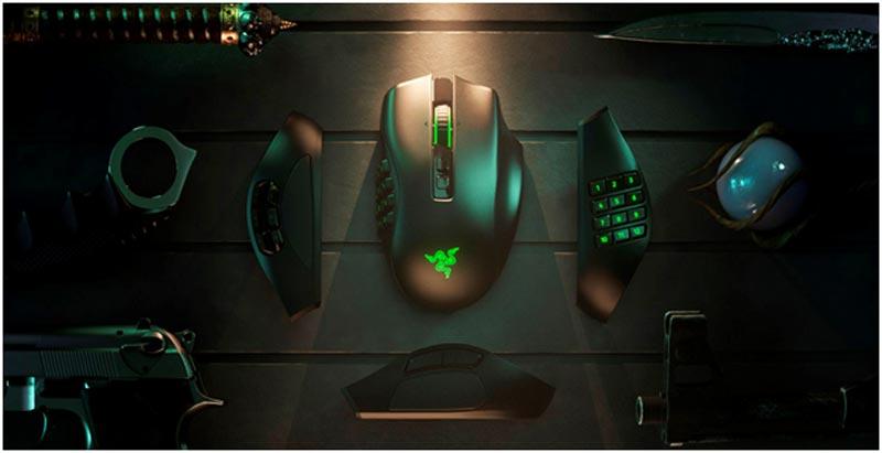Razer presenta su Naga Pro.