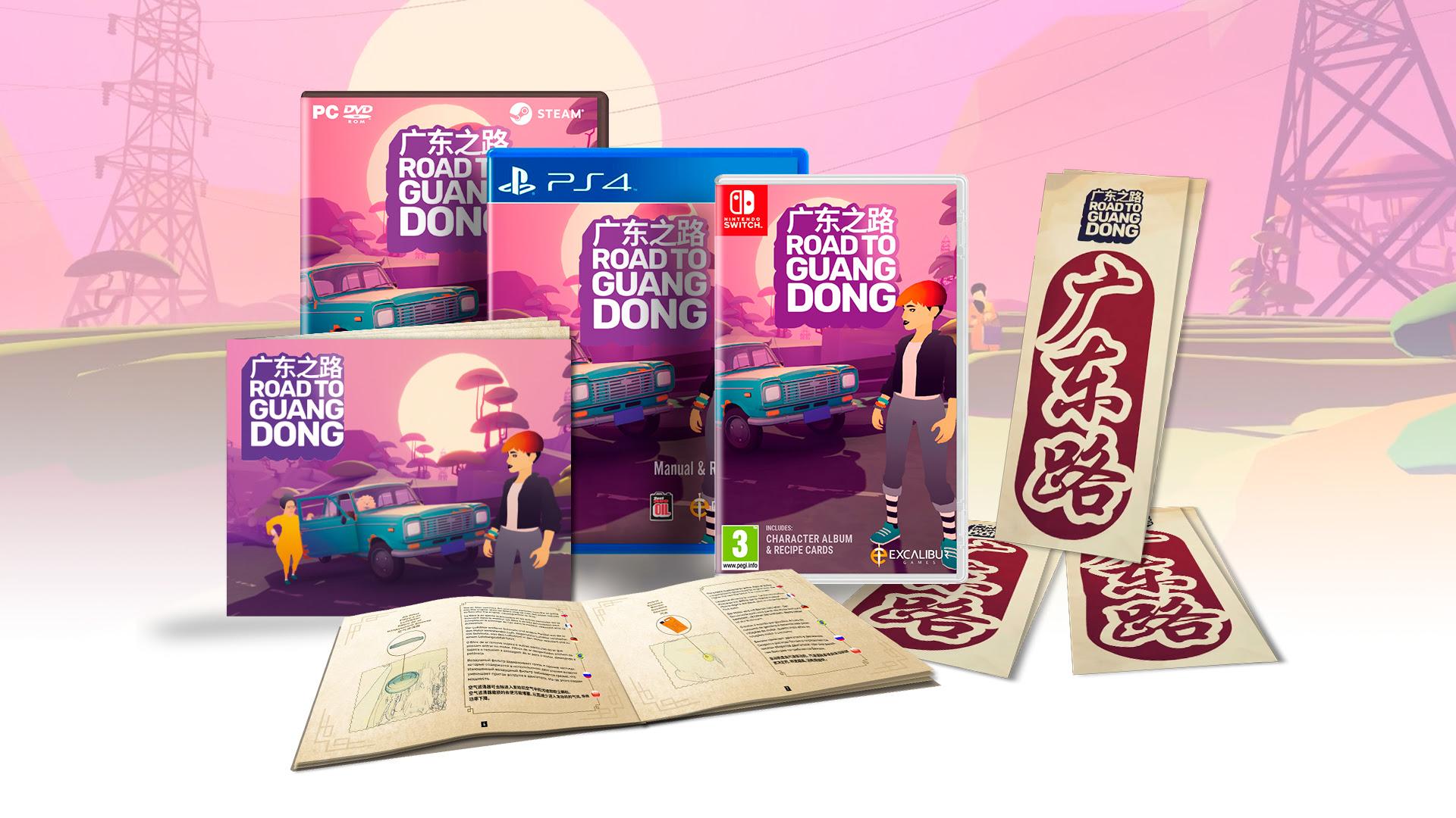 Comienza el viaje en Nintendo Switch y PlayStation 4 de Road to Guangdong