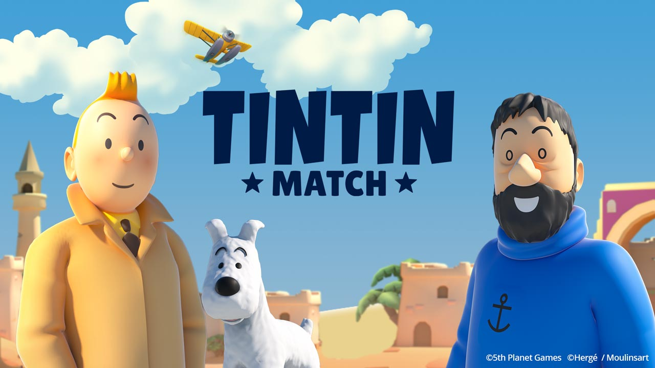 """Tintín Match""ya en Android e iOS"