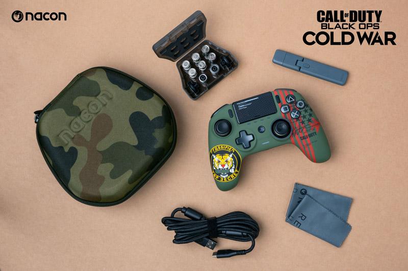 Nueva edición Call of Duty: Coldwar del mando Nacon Revolution UNLIMITED Pro Controller