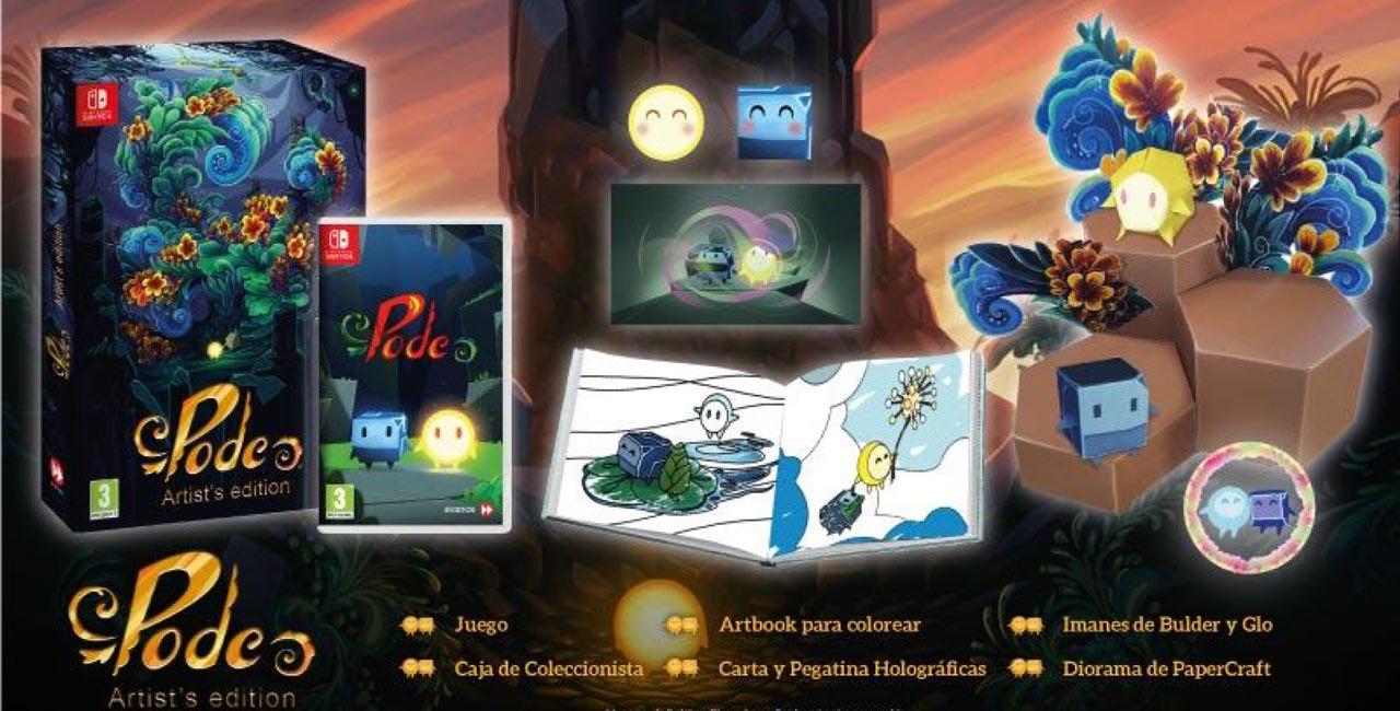 Hoy se lanza la versión física de Pode para Nintendo Switch