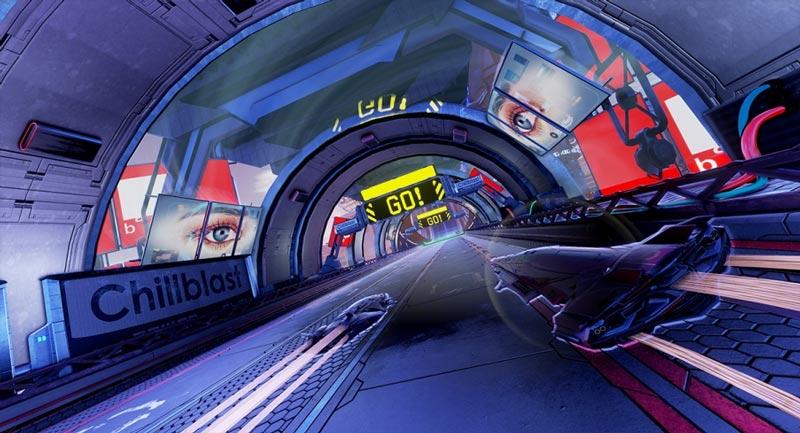 PACER: El Juego de Carreras y Combate Anti-Gravedad se lanza hoy en PC y PS4