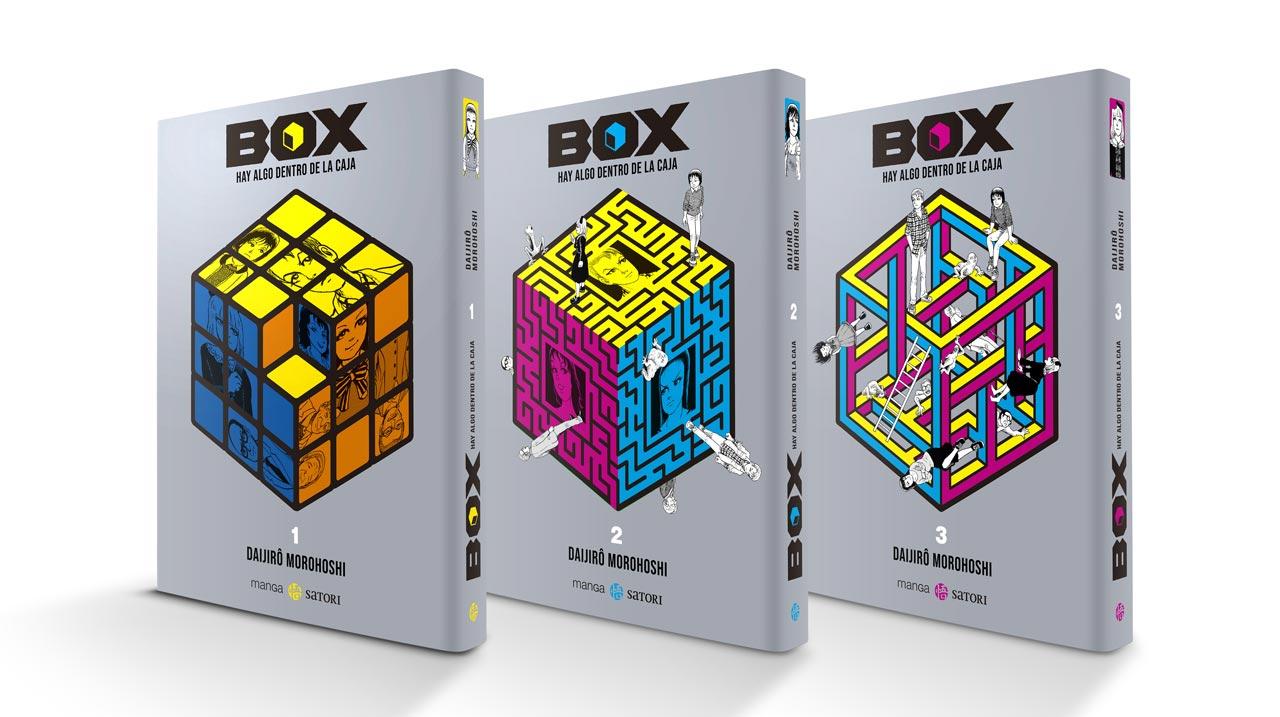 Box. Hay algo dentro de la caja, de Daijirô Morohoshi