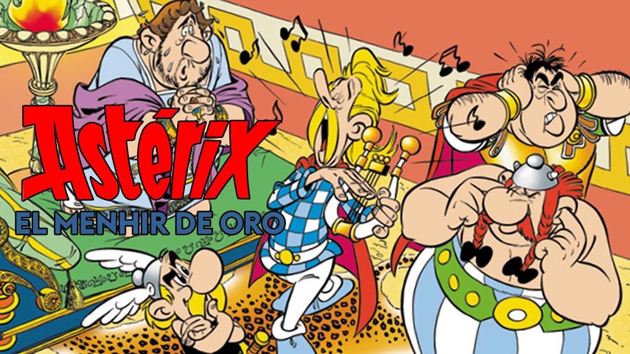 Astérix. El Menhir de Oro, de René Goscinny y Albert Uderzo