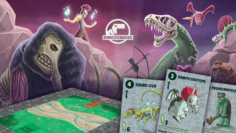 Dinozombíes arranca su campaña de mecenazgo el próximo 25 de noviembre