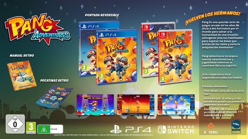 Pang Adventures «Buster Edition» ya a la venta.