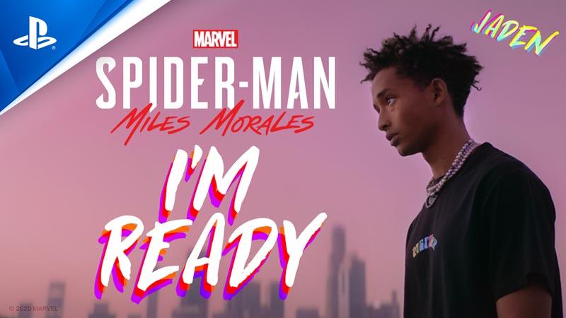 Nuevo vídeo de Jaiden Smith interpretando el tema principal de Marvel's Spider-Man: Miles Morales