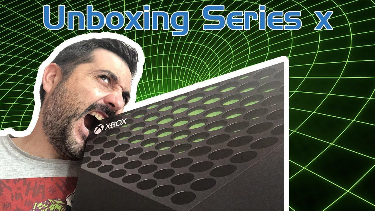 Ya tenemos la Series X y os traemos el unboxing de esta bestia parda