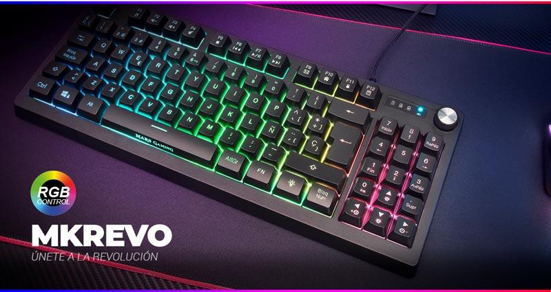 Nuevo teclado Mars Gaming MKREVO
