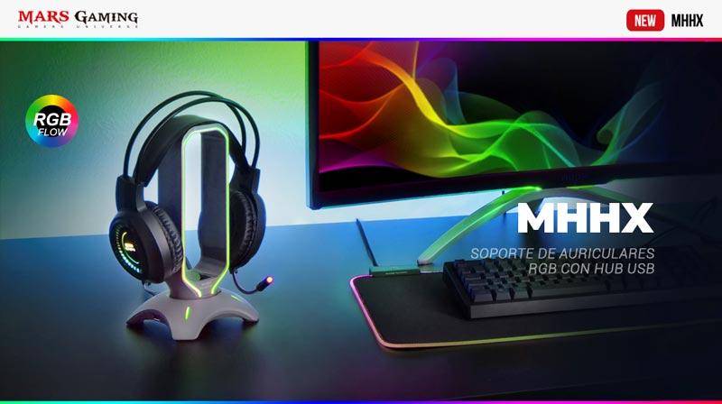 Mars Gaming presenta el MHHX