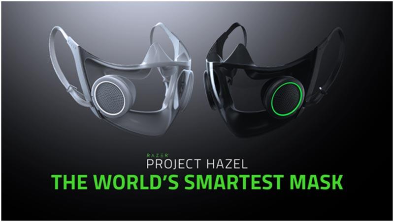 Razer lanza una mascarilla inteligente y una silla super inmersiva.
