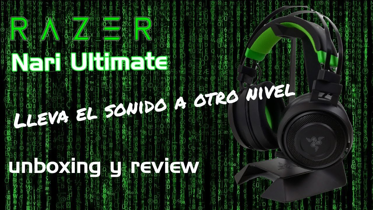 Unboxing y Review Razer Nari Ultimate