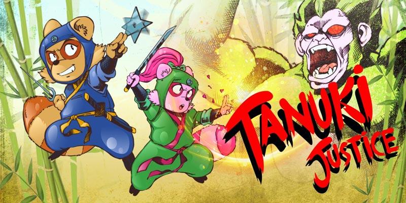 Tanuki Justice llegará a Nintendo Switch y PlayStation 4 en edición física