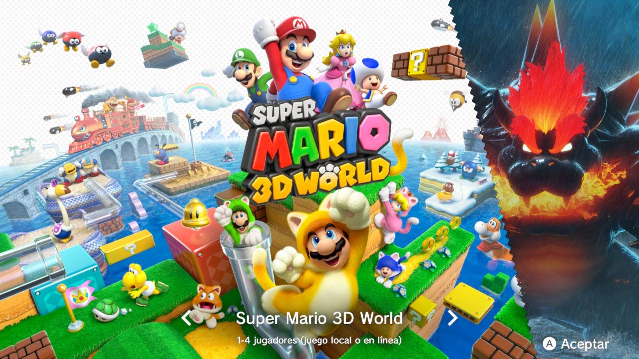 Análisis de Super Mario 3D World + Bowser's Fury
