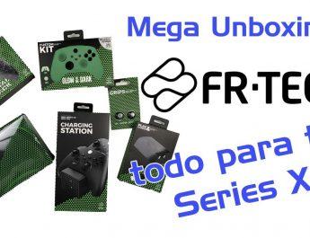 Fundas, Cargador, bosa de viaje…Todos los accesorios FRTEC para tu Series X. MegaUnboxing Especial