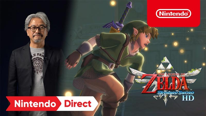 Splatoon 3 y Zelda: Skyward Sword los protagonistas del Nintendo Direct