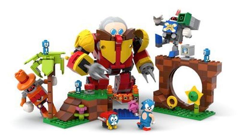 Sonic llega al mundo de LEGO