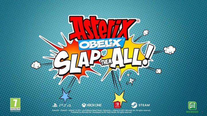 Los galos más famosos llegan este otoño en Asterix & Obelix: Slap Them All