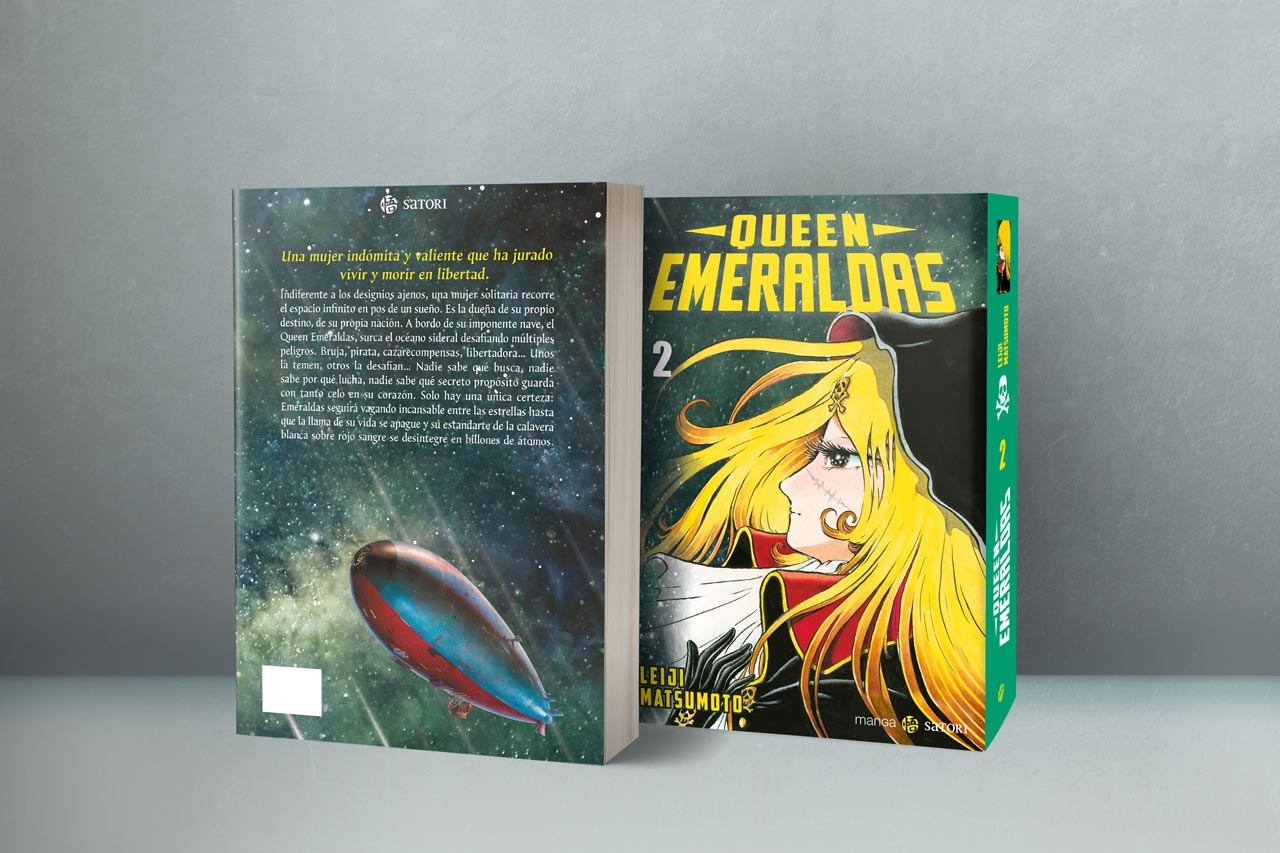 Queen Emeraldas, vol. 2, de Leiji Matsumoto