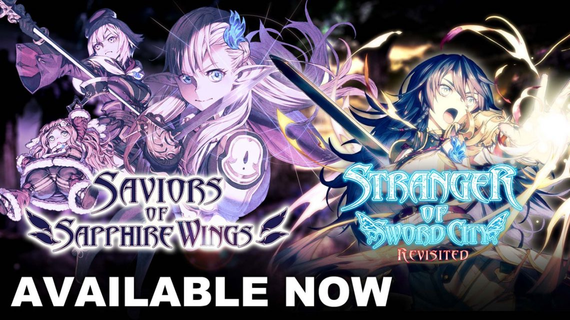 Saviors of Sapphire Wings / Stranger of Sword City Revised ya está disponible para Switch  y PC