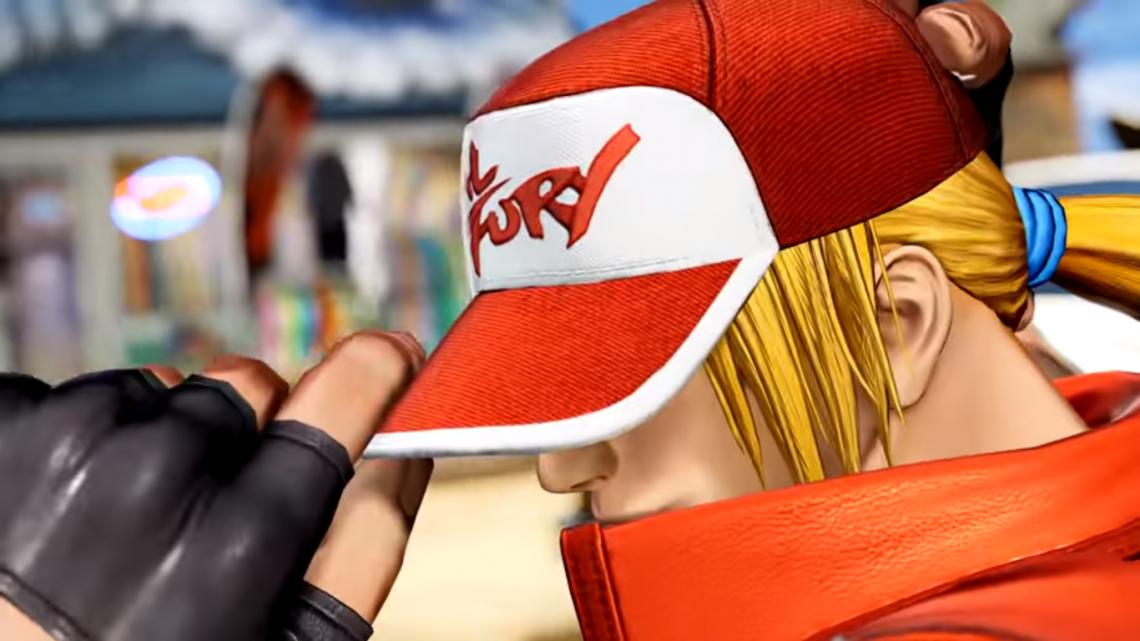 The King of Fighters XV presenta en vídeo a los integrantes del Team Fatal Fury