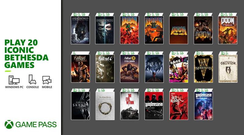 20 de los juegos más icónicos de Bethesda.